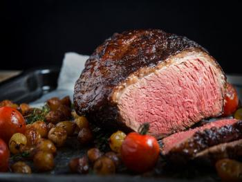 Culotte steak with chimichurry bearnaise