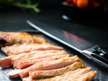 Iberico Secreto met saffraan-aardappelen