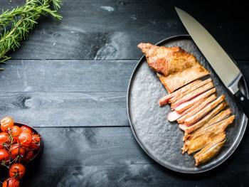 Wroetvarken Flank steak met vijgen