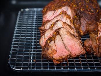 Angus Steak met romige Champignonsaus
