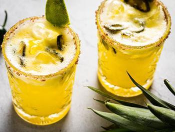Smoked Jalapeno Pineapple Margerita