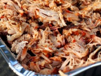 Pitmasters pulled pork