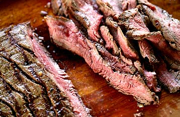 Pittige en zoete Flank Steak