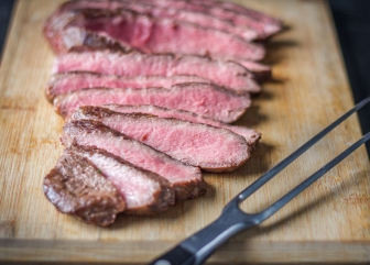 Gegrilde Pittige Flat Iron Steak