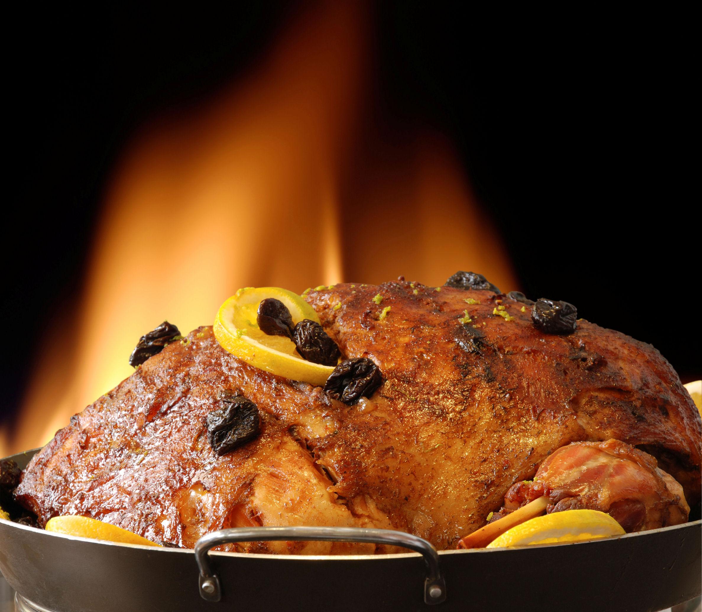 Varkensnek roast